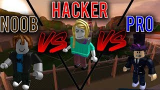 Noob vs Hacker vs Pro [Roblox Jailbreak Edition]