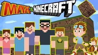 MAX IN MINECRAFT???! Will his Family save him? || Cartoons For Kids! Max & Midnight Episode 10