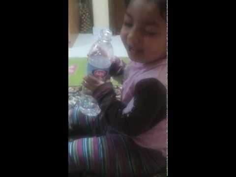 Playing Baby Hooria.