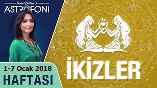 İkizler Burcu Haftalık Astroloji Yorumu 1-7 Ocak 2018, Astrolog Demet Baltacı