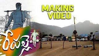 RC11 Repalle Movie Making Video || Ramcharan New Movie Working Stills - Sukumar,Samantha