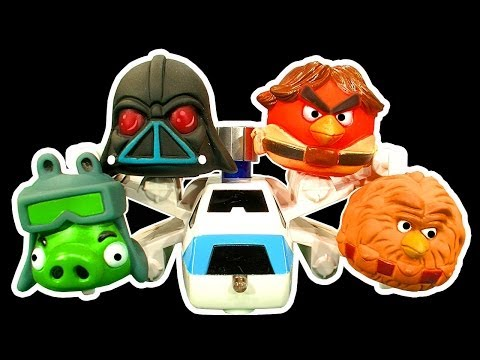 Angry Birds Dark Side Knock Off Toys Ep 3 Star Wars AT AT Cookie Monster Strikes Back Attack