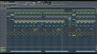 Eminem - Not Afraid - Instrumental fl studio remake with free Download link