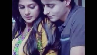 Saras and kumud vm (saraswatichandra romantic song) Teri ore song by Shreya ghosal...