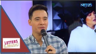 """Erik Santos promotes his """"My Greatest Moments"""" Concert (NET25 LETTERS AND MUSIC)"""