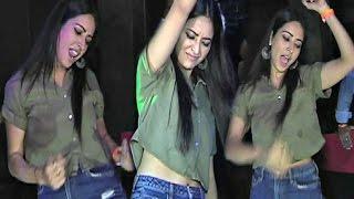 Asha Negi Hot Drunk Dance Video At Jyotsna Chandola Husband Birthday Party 2017