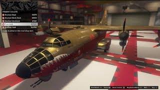 GTA 5 DLC Aircraft Customization (RM-10 Bombushka)