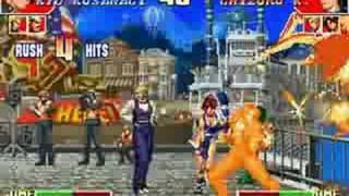 KOF97 Task Over Another Kyo vs Chizuru