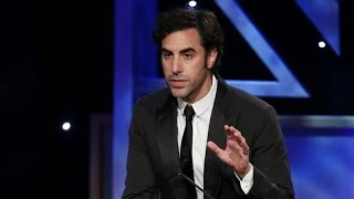 SACHA BARON COHEN Kills Presenter & Accepts Award (Extended) - 2013 Britannia Awards on BBC AMERICA