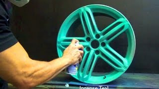 Teal and Purple Plasti Dip Spray
