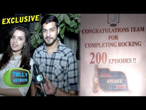 Interview : Shivam & Riya Talk About 'Mere Angne Mein' Completing 200 Episodes   Star Plus