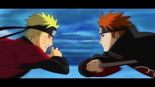 Naruto Vs Pain AMV -[Skillet] Hero/Monster HD