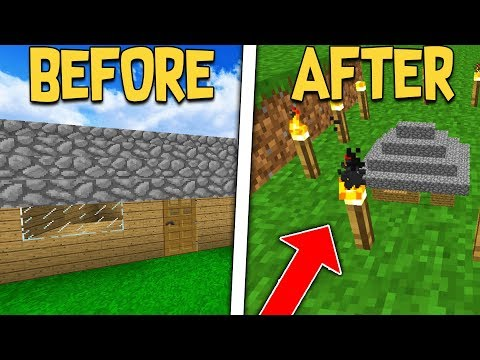 SLOWLY SHRINKING NOOBS HOUSE TILL HE NOTICES ON MINECRAFT