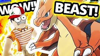 Pokemon School - Mega Charizard Y (Pokemon Brick Bronze)