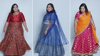 How To Style Lehengas - Plus Size Fashion Series by Prerna Adsul