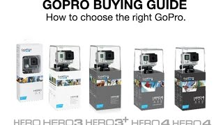 Which GoPro Should I Buy?