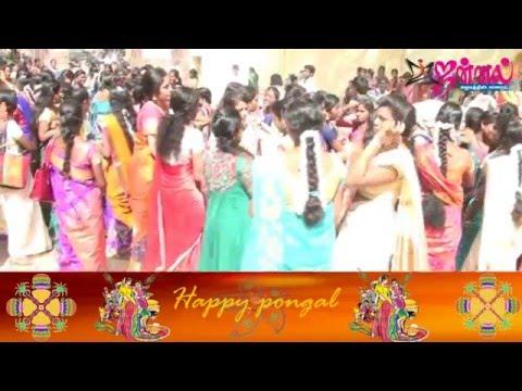 Chennai College Girls | Pongal celebration