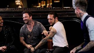 Talking Jackass and Sobriety | Pre-Haircut Interview with Brandon Novak and Bam Margera UNCENSORED