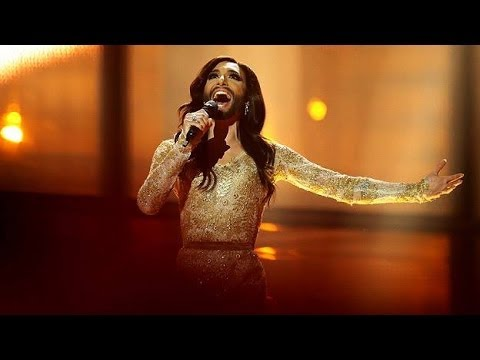 Conchita Wurst Eurovision Song Contest Winner 2014 Final Performance Austria LIVE