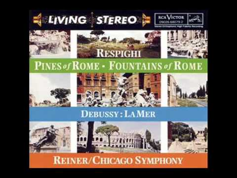 Respighi: Reiner - CSO - Pines of Rome - No. 2 - Pines Near a Catacomb
