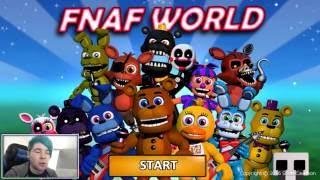 FNAF World | WITHERED FREDDY'S POWERFUL GLITCH!! #2