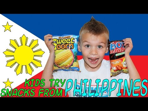 Family Fun Pack Kids Try Foods from the Philippines Universal Yums