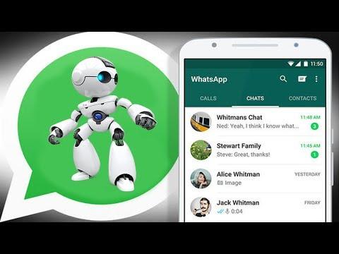 Xxx Mp4 Cara Menambahkan Robot Canggih Di WhatsApp Pecinta WhatsApp Wajib Coba 3gp Sex