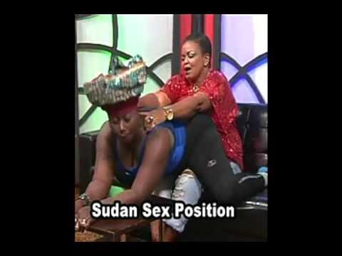 Akumaa Mama Zimbi teaches the Sudan sex position on TV