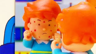 Spotty Rosie | Funny Animated cartoons Kids | WATCH ONLINE | Caillou Stop Motion