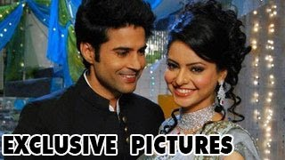 EXCLUSIVE PICTURES of Aamna & Rajeev Khandelwal ON THE SETS of Hongey Judaa Na Hum 22nd January 2013