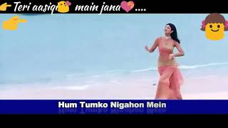 Hum Tumko Nigahon Mein|whatsapp status video|Hindi Movies |Udit Narayan|garv|romantic status|female