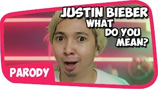 Justin Bieber - What Do You Mean PARODI !!