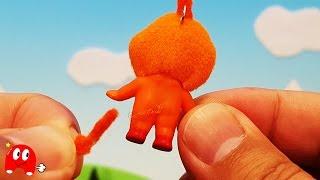 ドキンちゃんの尻尾が取れた!アンパンマン アニメ&おもちゃ ❤ Toy Kids トイキッズ animation anpanman