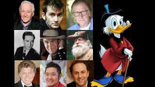 Animated Voice Comparison- Scrooge McDuck (DuckTales)
