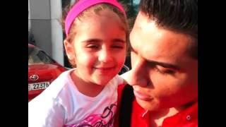 #محبوب_العرب #محمد_عساف مع الطفلة زينة في دبي #ASSAF