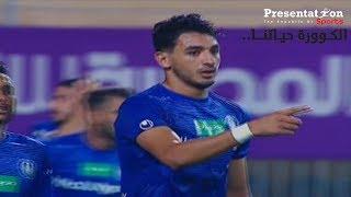 """الهدف الأول لسموحة امام الزمالك """" محمد حمدي زكي """" الجولة الـ 6 الدوري العام الممتاز"""