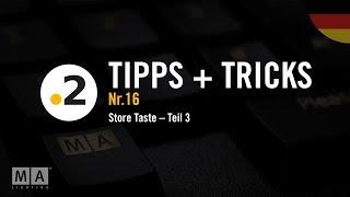 dot2 Tipps und Tricks Nr. 16 – Store Taste 3