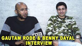 Gautam Rode & Benny Dayal Interview | Latest Song Sunwai Special Interview 2018 | Gautam & Benny