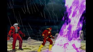 Mugen animation - The Flash vs. King of Fighters - By Primestone - 閃電俠 vs. 拳皇