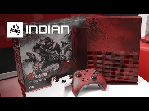 XBOX ONE S - Gears of War 4 Edice - INDIAN