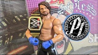WWE ACTION INSIDER: AJ STYLES Mattel Series 68 Wrestling Figure Review!