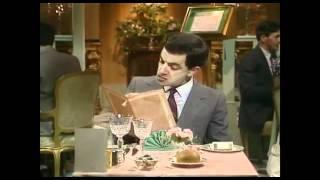 [FUNNY]Mr. Bean - At The Restaurant- Your Order Please-Im Restaurant- Was Wünscht der Herr?