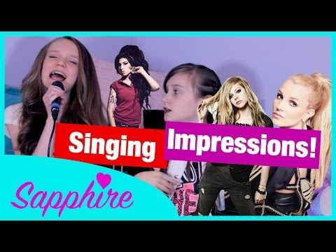 Download Lagu Singing Impressions with Skye | Sapphire [NEW HQ AUDIO] MP3