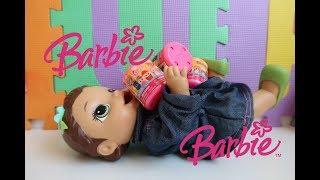 BARBIE SUPER SQUISH DE PROFISSÕES. ABRINDO SURPRESAS COM BABY ALIVE AMANDINHA, KIARA E ALANA.