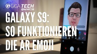AR Emoji im Samsung Galaxy S9 im Check: So funktioniert das Animoji-Gegenstück - GIGA.DE