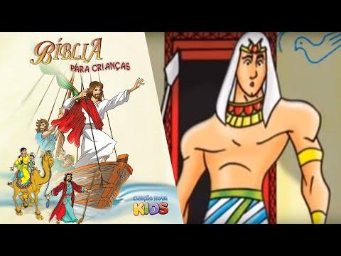 Bíblia para Crianças José do Egito Antigo Testamento