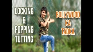 Shreya Reddy's Locking & Popping, Tutting Dance on Silsila Yeh Chahat Ka (Remix)