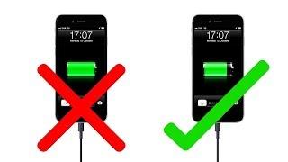 10 أخطاء فادحة عند شحن بطارية الهاتف الذكي!!