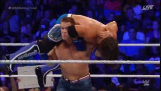 AJ Styles reversed Attitude Adjustment into Pele Kick