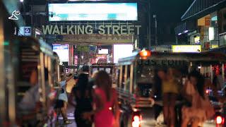 Pattaya, Thailand - Tayland - Night Life, Gece Hayatı